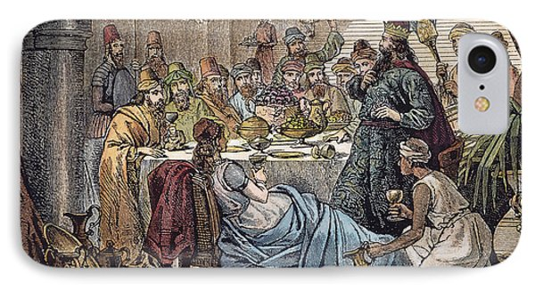 Belshazzars Feast Phone Case by Granger