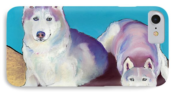 Best Buddies IPhone Case by Pat Saunders-White