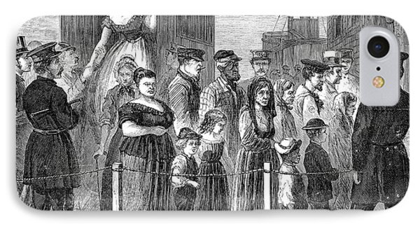 Blackwells Island, 1868 Phone Case by Granger
