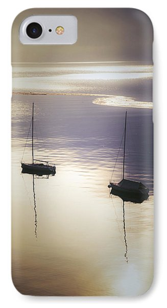 Boats In Mist Phone Case by Joana Kruse