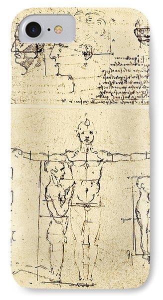 Body Anatomy Phone Case by Sheila Terry