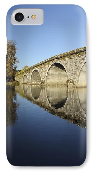 Bridge Over River Nore Bennettsbridge Phone Case by Trish Punch