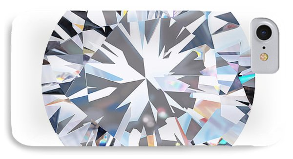 Brilliant Diamond IPhone Case by Setsiri Silapasuwanchai