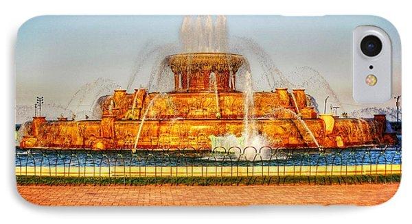 Buckingham Fountain IPhone Case by Dan Stone