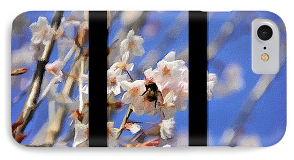 Bumble Bee Phone Case by Svetlana Sewell