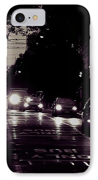Bus Only Lane IPhone Case by Bob Wall