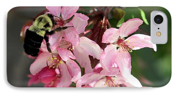 IPhone Case featuring the photograph Buzzing Beauty by Elizabeth Winter