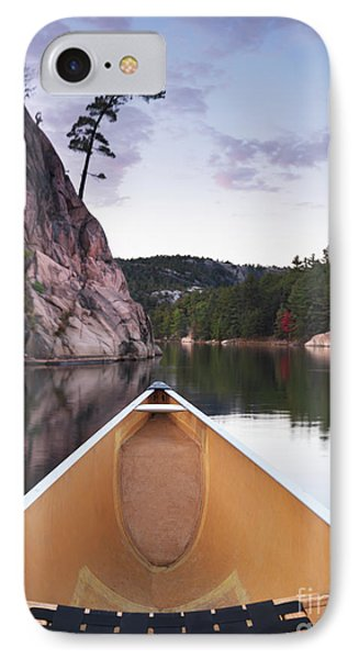 Canoeing In Ontario Provincial Park IPhone Case