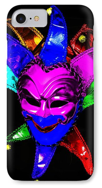 IPhone Case featuring the digital art Carnival Mask by Blair Stuart