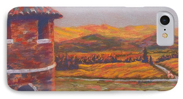 Castello Di Amorosa IPhone Case by Becky Chappell