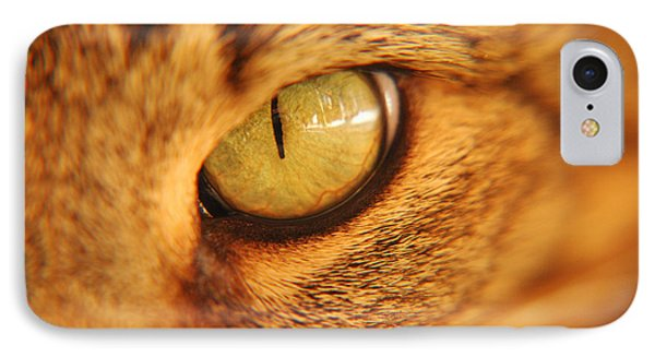 Cats Eye Phone Case by Micah May