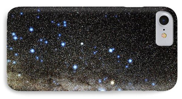 Centaurus And Crux Constellations Phone Case by Eckhard Slawik
