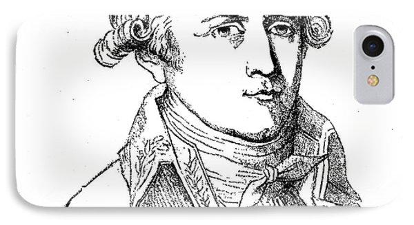 Chevalier De Lamarck Phone Case by Granger