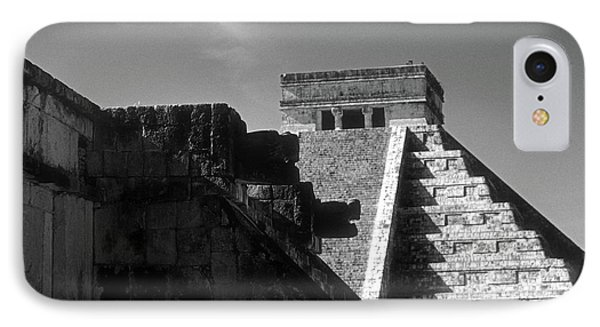 Chichen Itza Ruins Yucatan Mexico IPhone Case by John  Mitchell