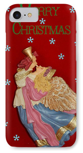 Christmas Angel Phone Case by Aimee L Maher Photography and Art Visit ALMGallerydotcom
