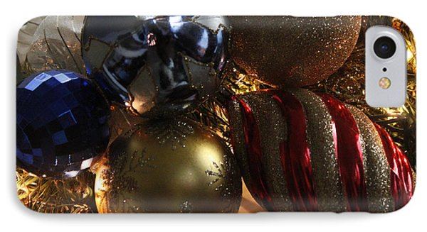 Christmas Decoration IPhone Case by Ivete Basso Photography