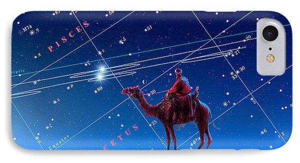 Christmas Star As Planetary Conjunction Phone Case by Detlev Van Ravenswaay
