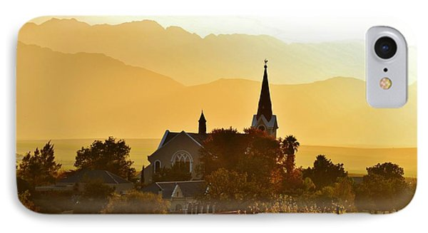 IPhone Case featuring the photograph Church At Dusk by Werner Lehmann