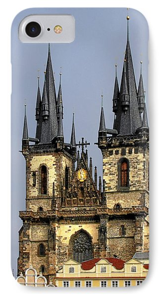 Church Of Our Lady Before Tyn - Prague Cz Phone Case by Christine Till