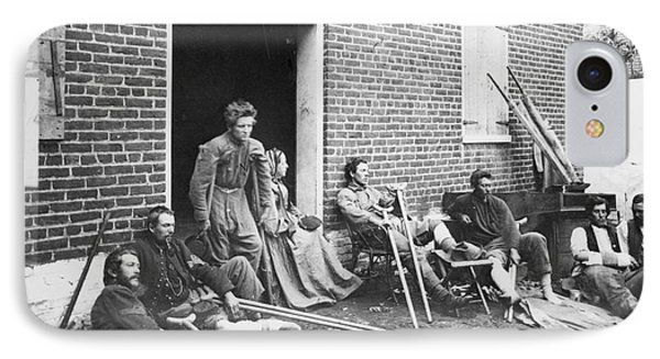 Civil War: Wounded, 1864 Phone Case by Granger