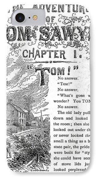 Clemens: Tom Sawyer Phone Case by Granger