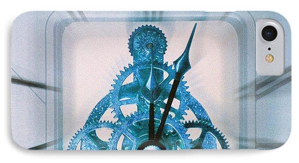 Clock Mechanism Phone Case by Victor De Schwanberg