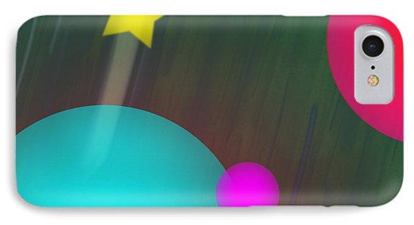 Cmyk Spheres Phone Case by Xueling Zou