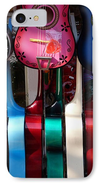 Colorful Guitars Phone Case by Jeff Lowe
