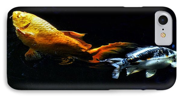 Colorful Koi Phone Case by Don Mann