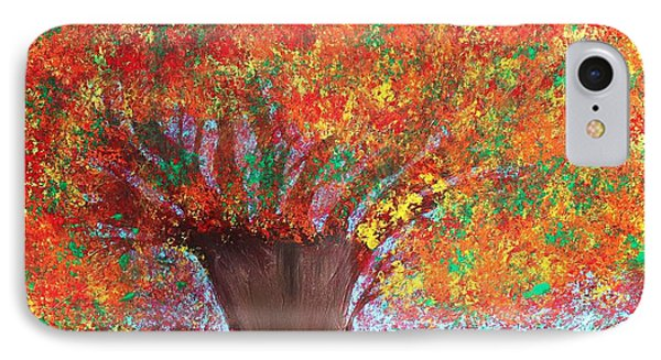 Colors Of Fall Phone Case by Paulette Ingersoll