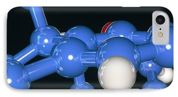 Computer Artwork Of Part Of A Molecule Phone Case by Laguna Design