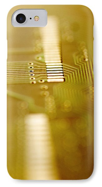 Computer Circuit Board IPhone Case