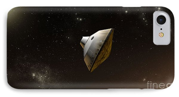 Concept Of Nasas Mars Science Phone Case by Stocktrek Images