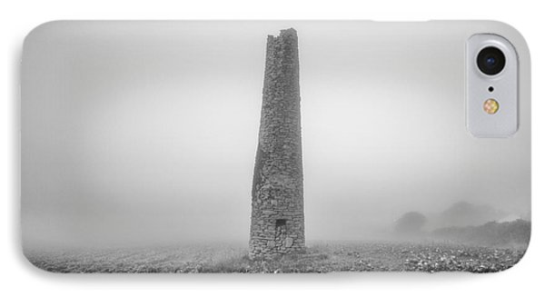 Cornish Mine Chimney Phone Case by John Farnan