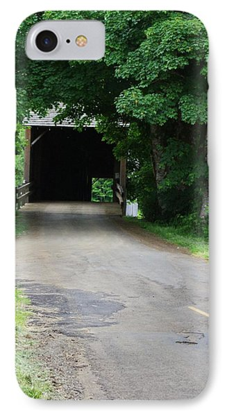 Covered Bridge IPhone Case by Ansel Price