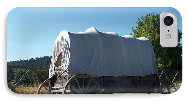 Covered Wagon Phone Case by Charles Robinson