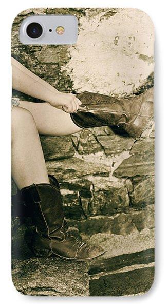 Cowboy Boots Phone Case by Joana Kruse