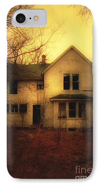 Creepy Abandoned House Phone Case by Jill Battaglia