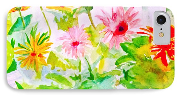 Daisy Daisy IPhone Case by Beth Saffer