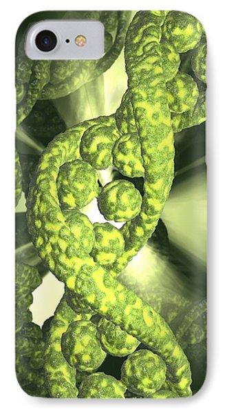 Damaged Dna, Conceptual Artwork Phone Case by David Mack