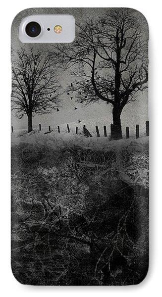 Dark Roost Phone Case by Ron Jones