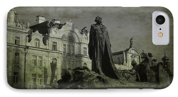 Death In Prague Phone Case by Lee Dos Santos