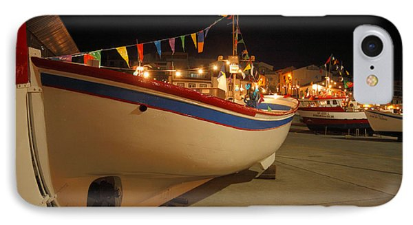 Decorated Fishing Boats Phone Case by Gaspar Avila