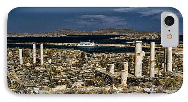 Delos Island Phone Case by David Smith