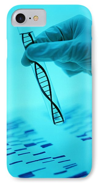 Dna Research IPhone Case by Lawrence Lawry