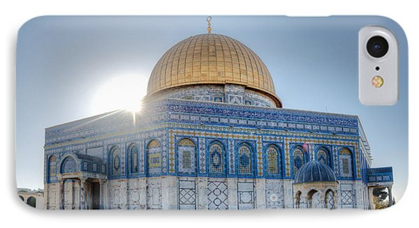 Dome Of The Rock Phone Case by Noam Armonn
