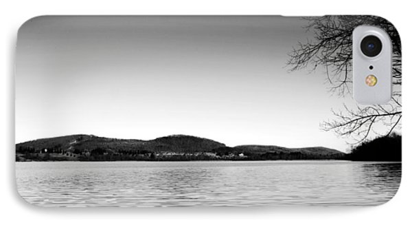 Dryden Lake New York Phone Case by Paul Ge