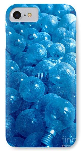 Dusty Light Bulbs Phone Case by Gaspar Avila