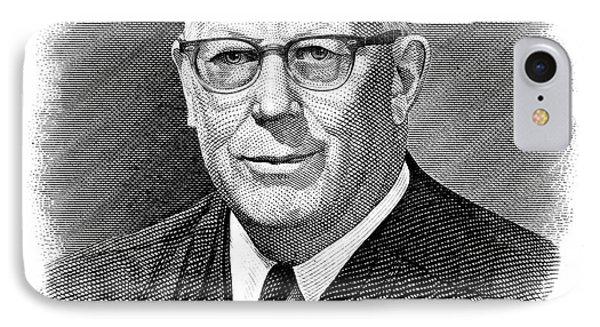 Earl Warren (1891-1974) Phone Case by Granger