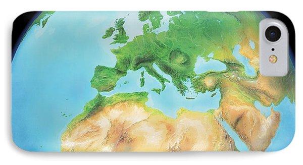 Earth, Artwork Phone Case by Gary Hincks